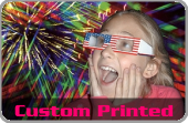 Custom Printed Fireworks Glasses